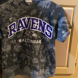 Ravens Baltimore tie dye shirt